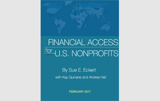 financial access for US nonprofits cover