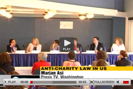 video for anti-charity law in US with Marjan Asi